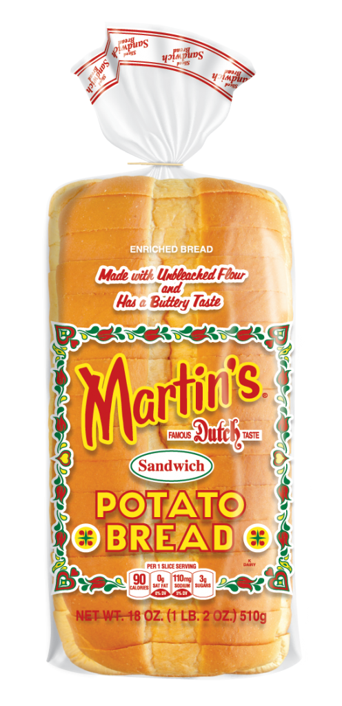 Martin's Potato Bread contains 4g protein in each slice -- good picky eater hack for school lunch!