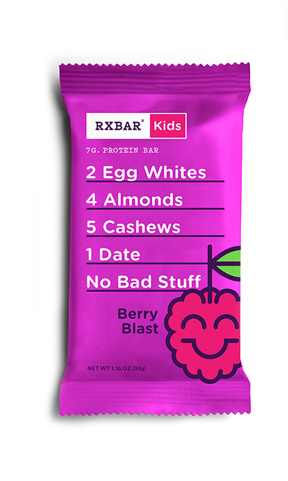RX Bar Kids: Healthy alternative to granola bars for lunch box snacks