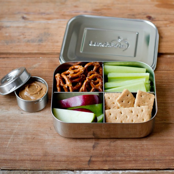 School lunch fixes for picky eaters: Send lunch in a LunchBots bento-style box
