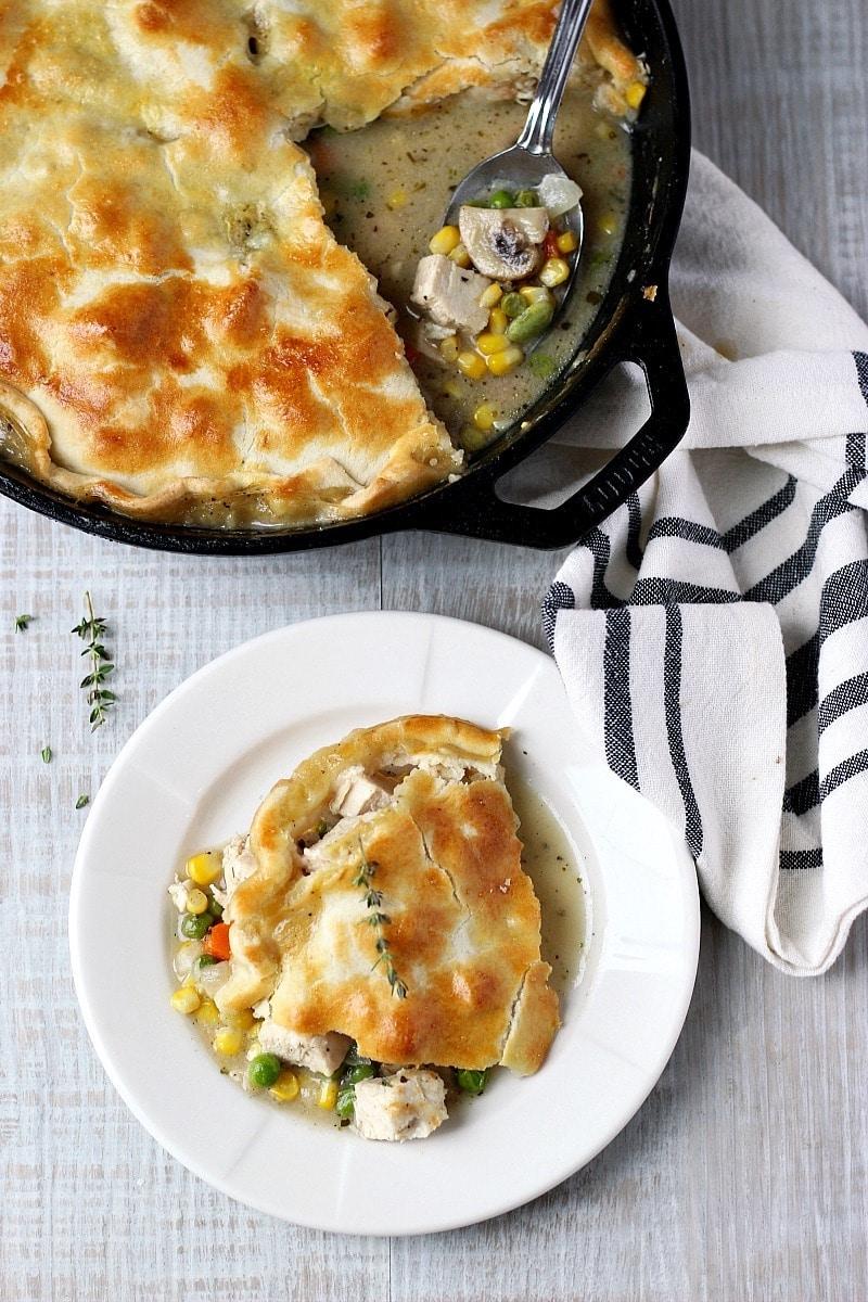 Weekly meal plan: Chicken Pot Pie at Garden in the Kitchen