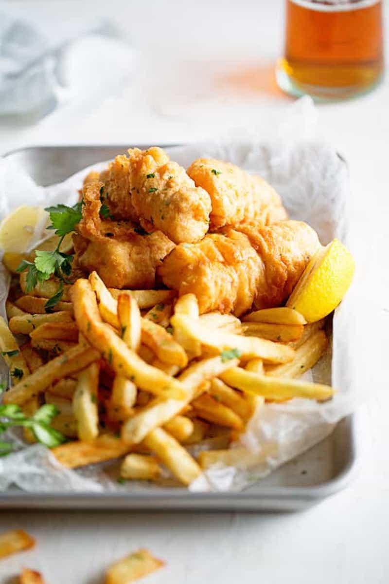 Weekly meal plan: Fish and Chips at Grandbaby Cakes