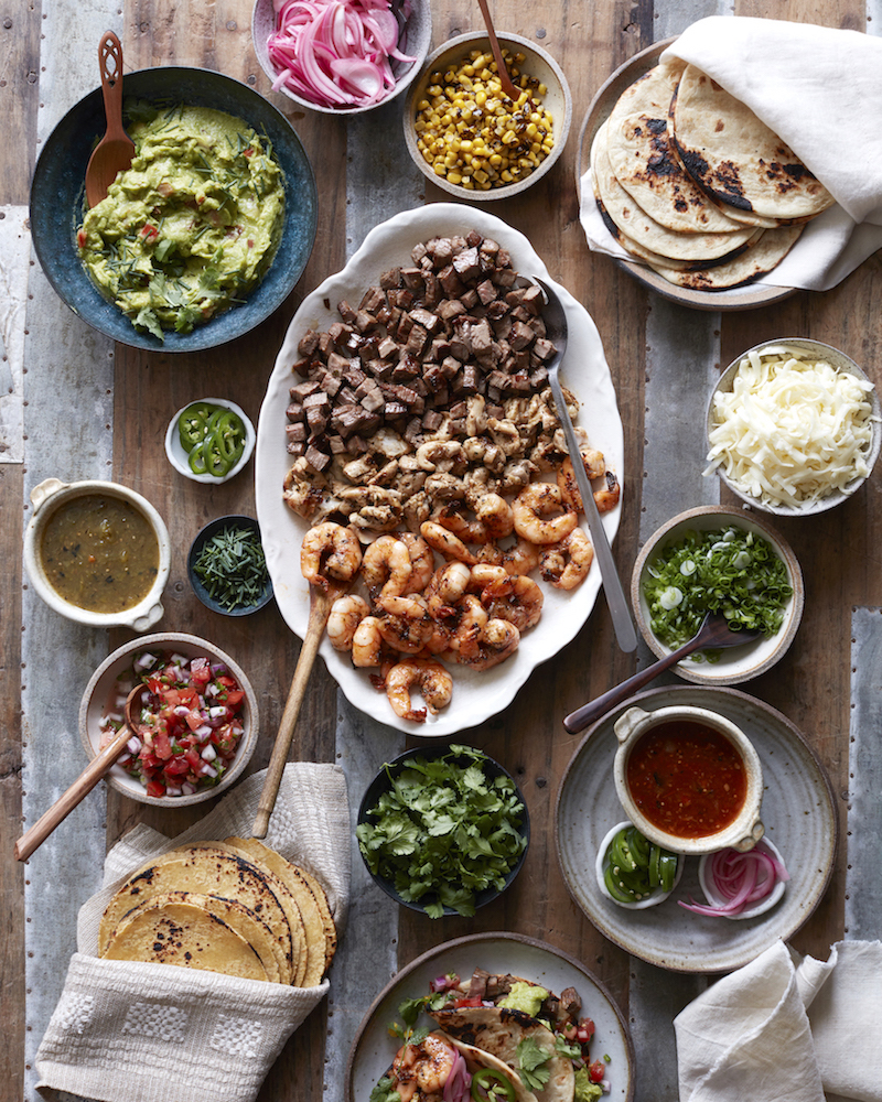 Weekly meal plan: Taco Bar at What's Gaby Cooking?
