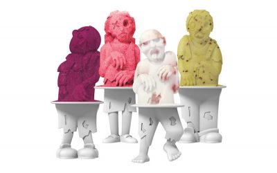 Can you win at ice pops? With these zombie ice pop molds, we'll go with yes.