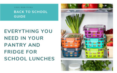 The essential school lunch shopping list: Everything you need in your pantry + fridge   Back to School Guide