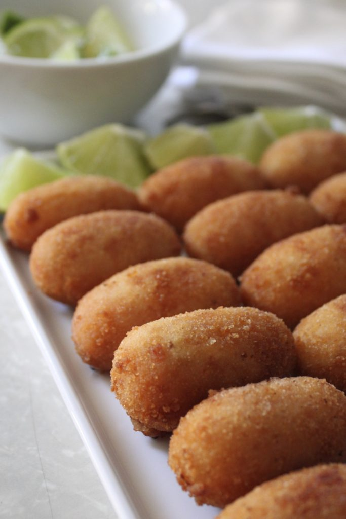 Hispanic Heritage recipes: Cuban ham croquettes (Croquetas de Jamón) recipe from Hungry Sofia