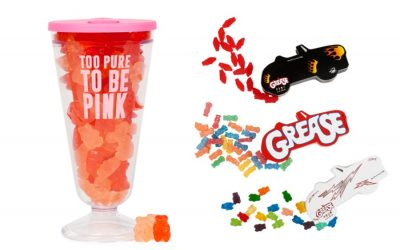 Grease candies may be the ones that you want. Burn rubber and grab them!