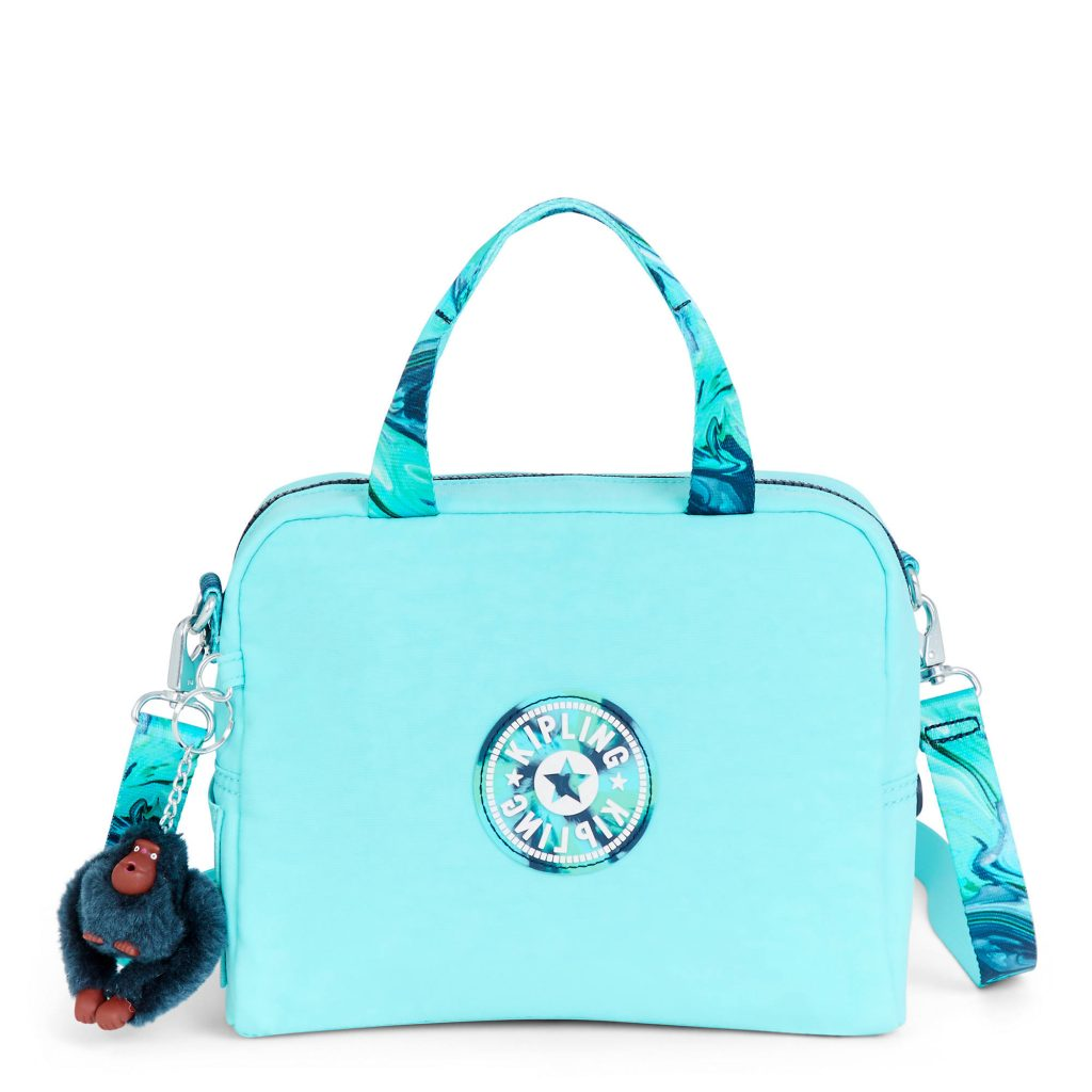 Kipling Piper Lunch Bags with soft shells and fun colors