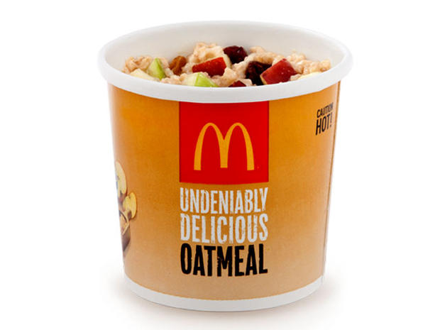 Meatless meals at America's top 10 fast food restaurants: McDonald's fruit and maple oatmeal