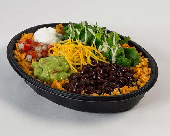 Meatless meals at America's top 10 fast food restaurants: Veggie Power Menu Bowl at Taco Bell