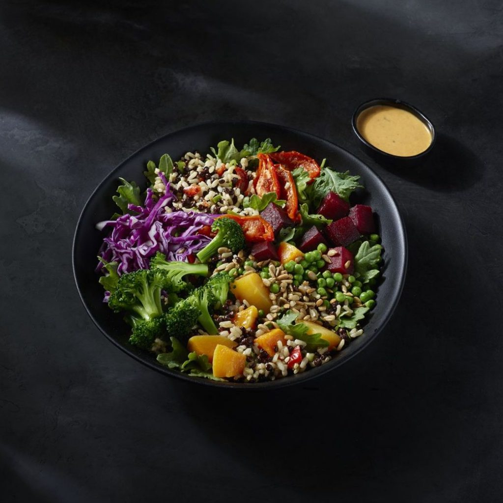 All the meatless options from America's top fast food chains: The vegan-approved lentil protein bowl at Starbucks