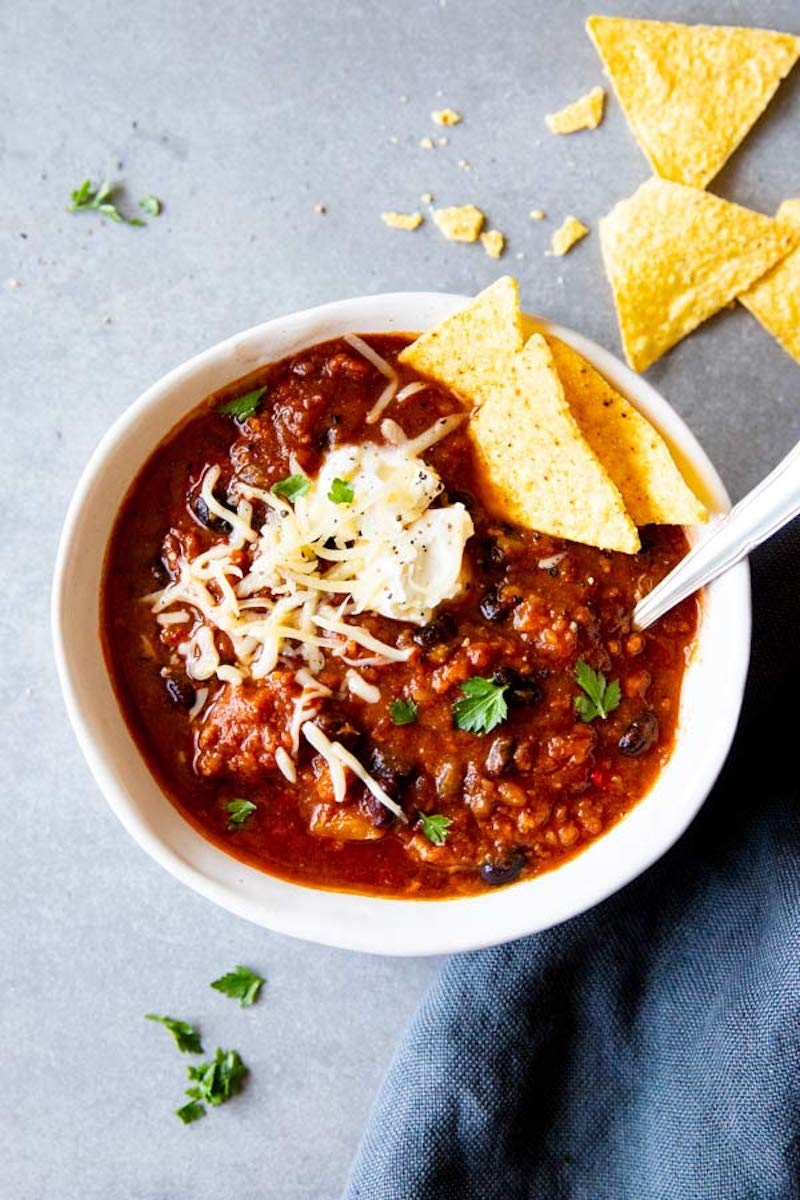 Weekly Meal Plan: Instant Pot Pumpkin Chili at The Wholesome Recipe Box