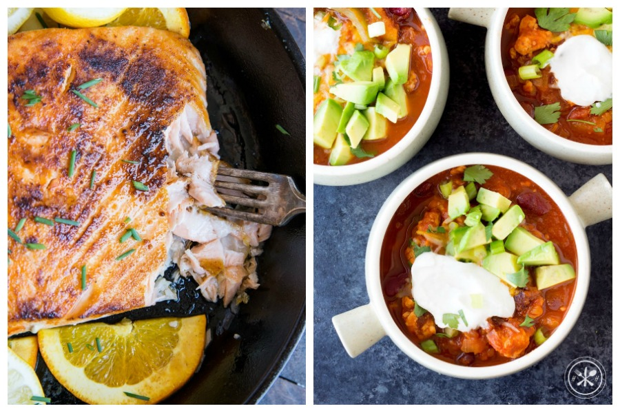 Weekly meal plan: 5 easy meals for the week ahead, including a citrus-y salmon and 5-minute meatballs