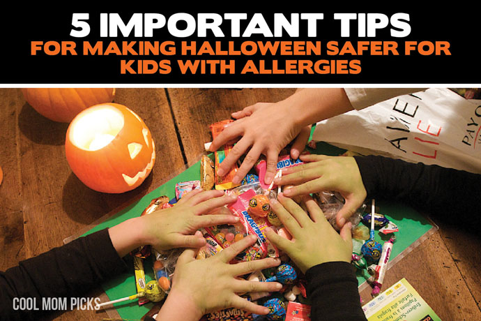 How to make Halloween more safe (and inclusive!) for kids with peanut + tree nut allergies: 5 essential tips