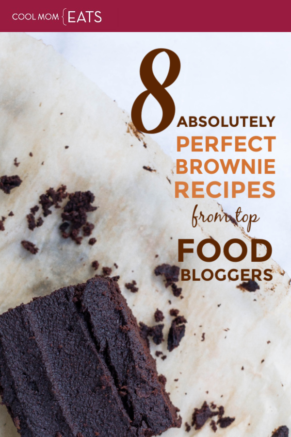 8 of the absolute best brownie recipes from top food bloggers, no matter what kind of brownies you love! | coolmomeats.com
