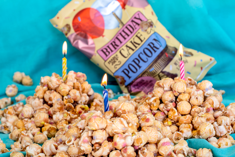 All the cool new products coming to Trader Joe's this month: Trader Joe's Birthday Cake Popcorn