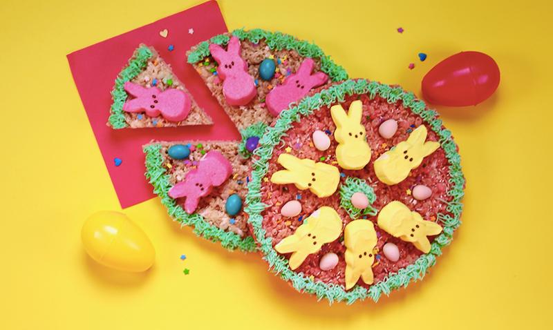 The Easy Bake Unicorn Cookbook: Peeps Pizza