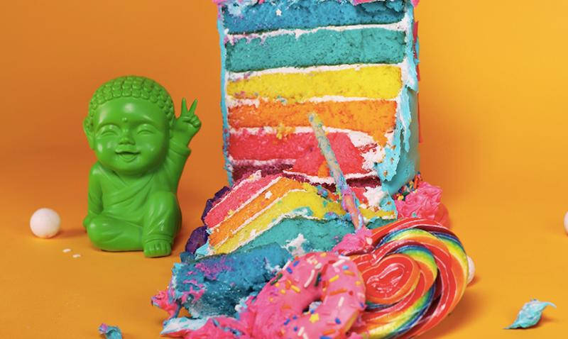 The Easy Bake Unicorn Cookbook: Rainbow Nirvana Cake