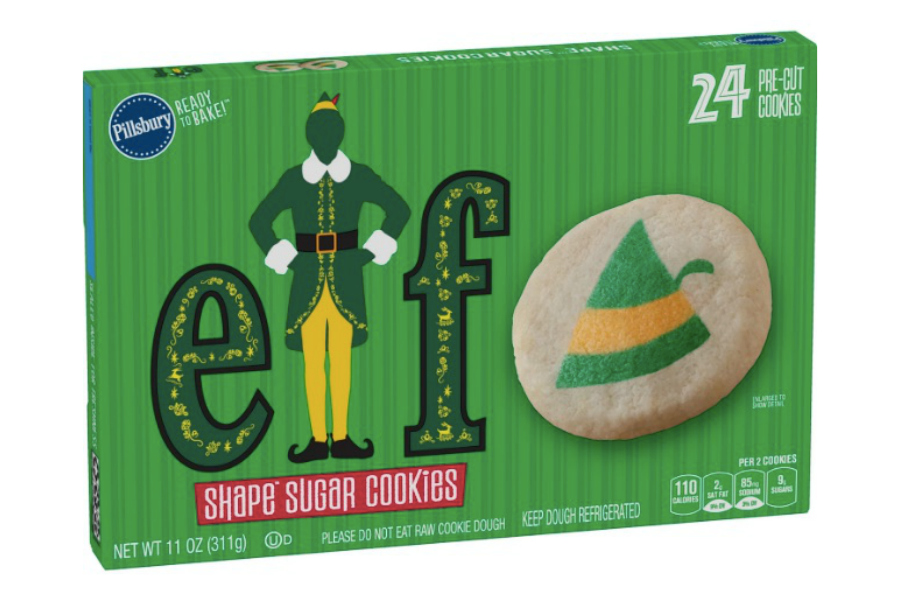 Elf cookies, you guys! BUDDY THE ELF COOKIES!