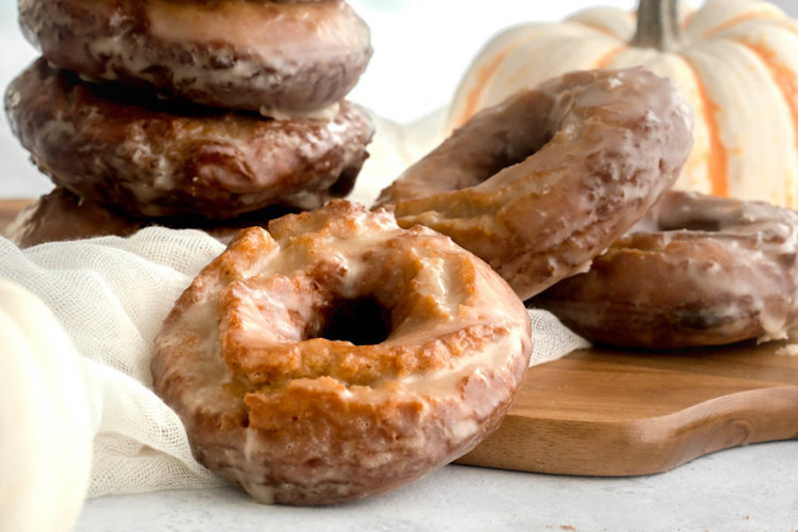 6 irresistible fall donut recipes | Pumpkin Spice Old Fashioned at Good Things Baking
