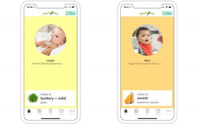 Could the new Flavorbaby app help parents raise more adventurous eaters?