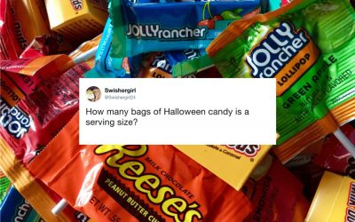 11 hilarious tweets about the most important part of Halloween: Candy.