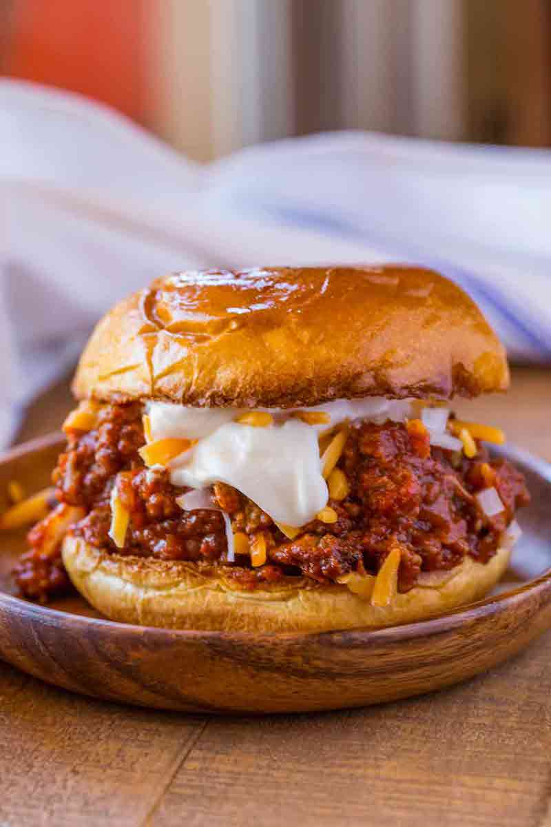 Weekly meal plan: Chili Cheese Sloppy Joes at Dinner then Dessert