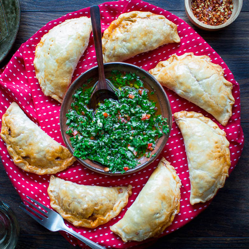 Weekly meal plan: Baked Beef Empanadas at Healthy World Cuisine