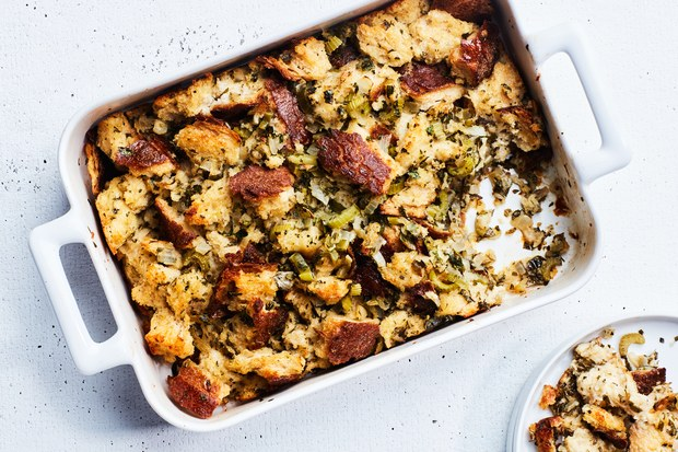 "Best Thanksgiving stuffing recipes: ""Simple Is Best"". Photo © Chelsea Kyle 