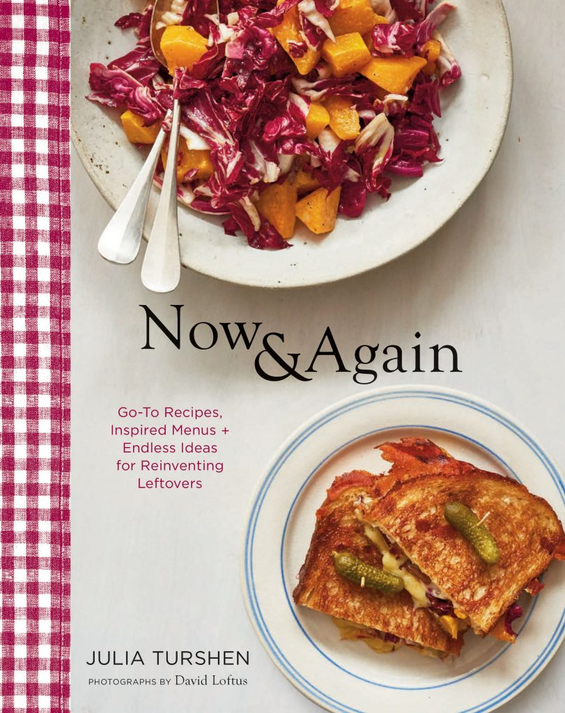 A favorite new cookbook, Now & Again by Julia Turshen, is a fresh take on menu planning and leftovers | review: Cool Mom Eats