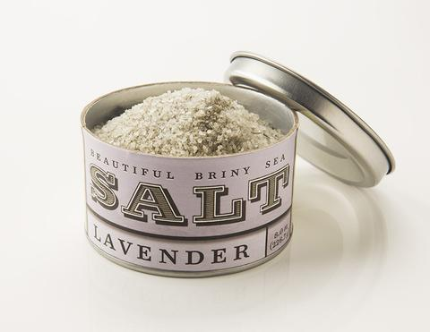 Beautiful Briny lavender sea salt: Perfect for sprinkling over homemade shortbread cookies