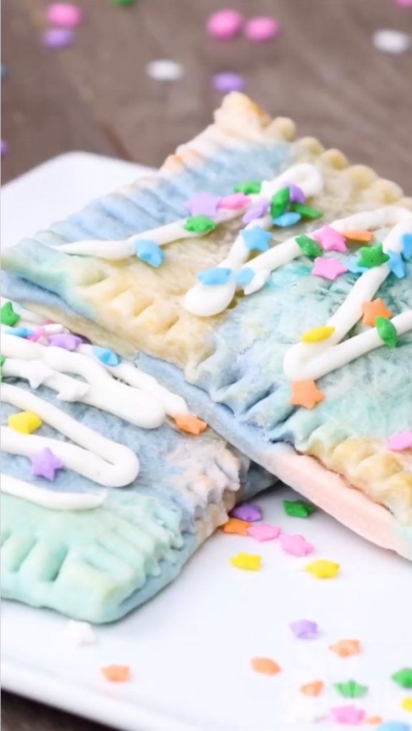 Unicorn Pop Tarts via So Yummy on Instagram