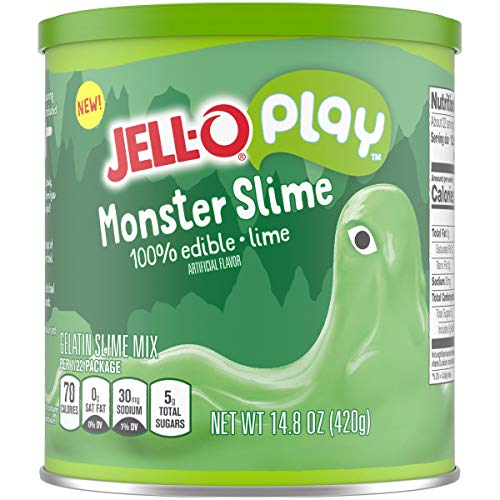 JELL-O's new play slime in edible flavors like unicorn and...monster!