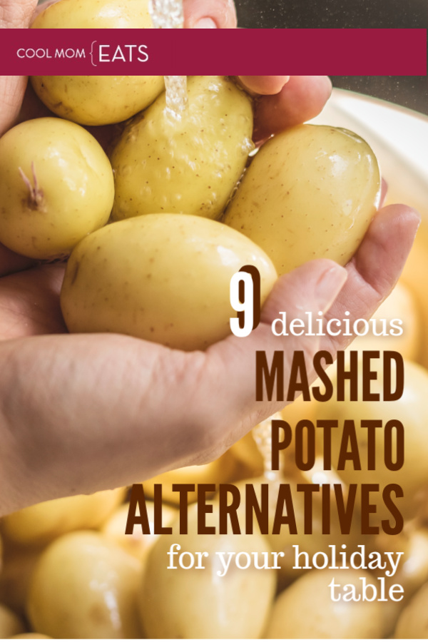 9 delicious mashed potato alternatives for your holiday dinner | cool mom eats