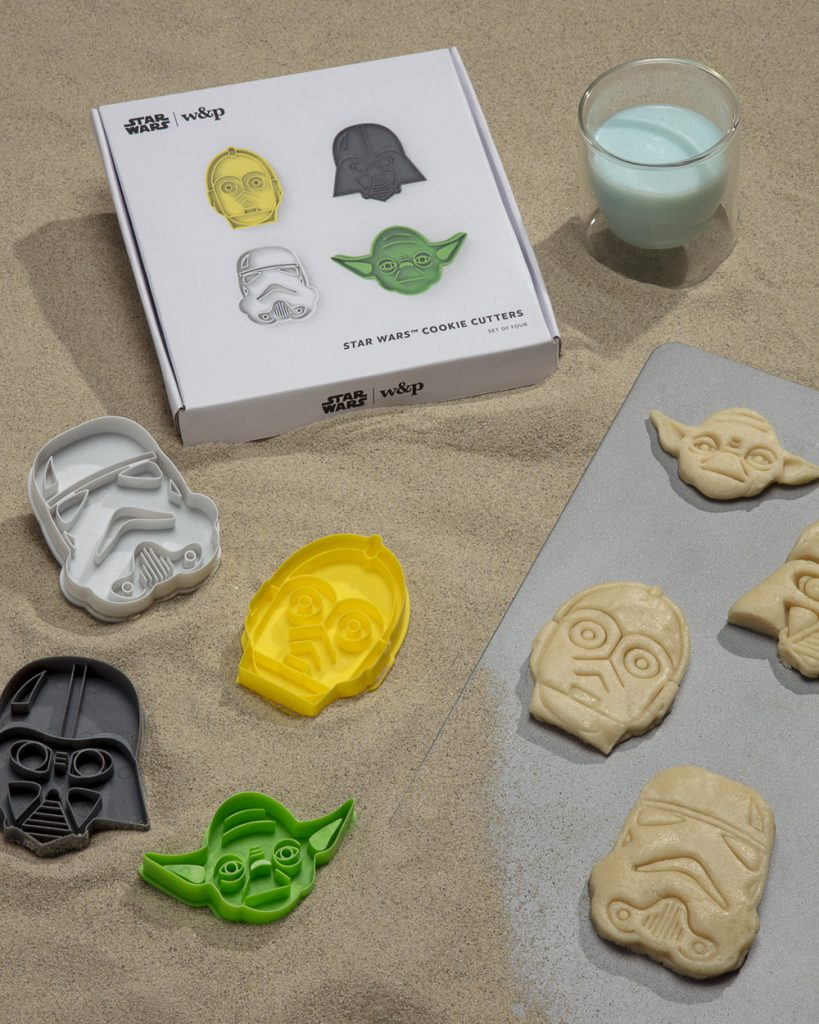 W&P Star Wars collection: Cookie cutters and other fun kitchen gifts