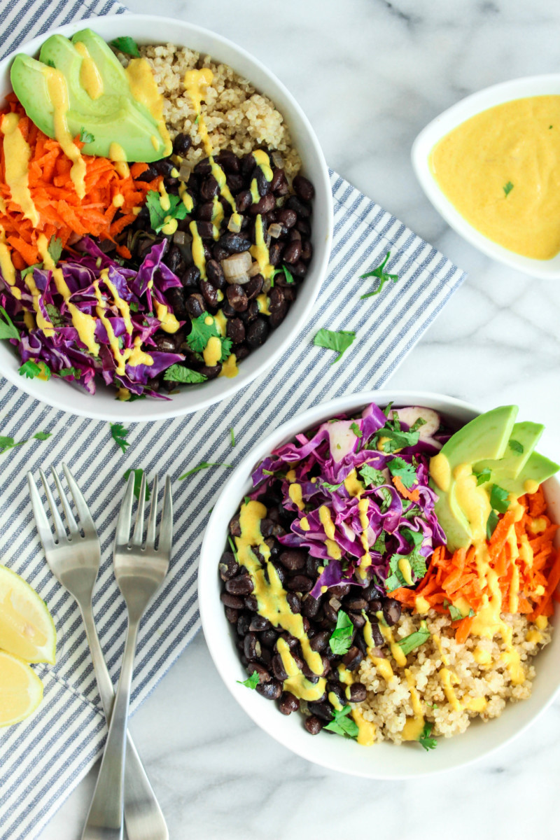 Weekly meal plan: Black Bean Quinoa Bowls at Food by Jonister