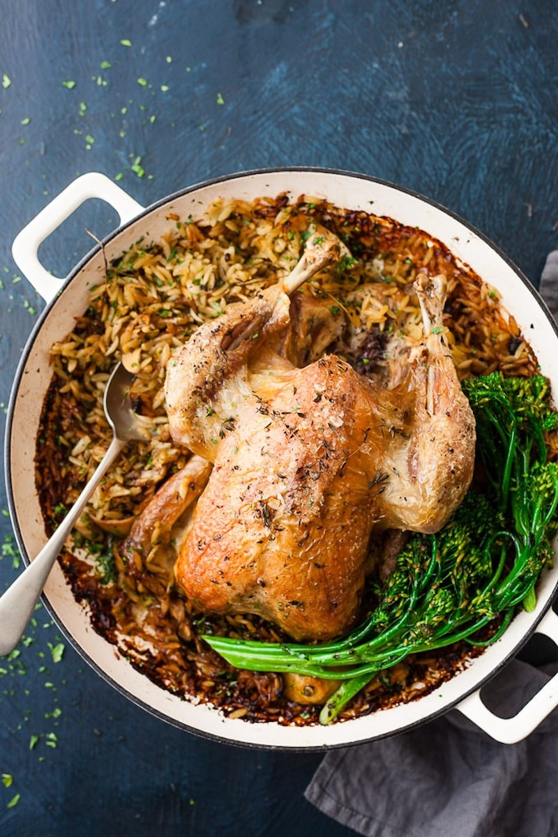Weekly meal plan: Whole Roasted Chicken at Salted Mint