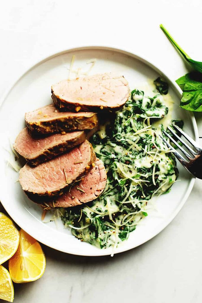 Weekly meal plan: Garlic Rosemary Pork Loin at Low Carb with Jennifer