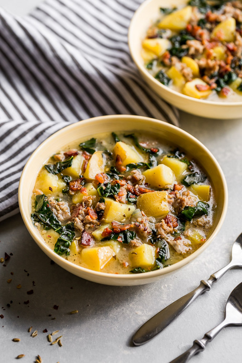 Weekly meal plan: Instant Pot Zuppa Toscana
