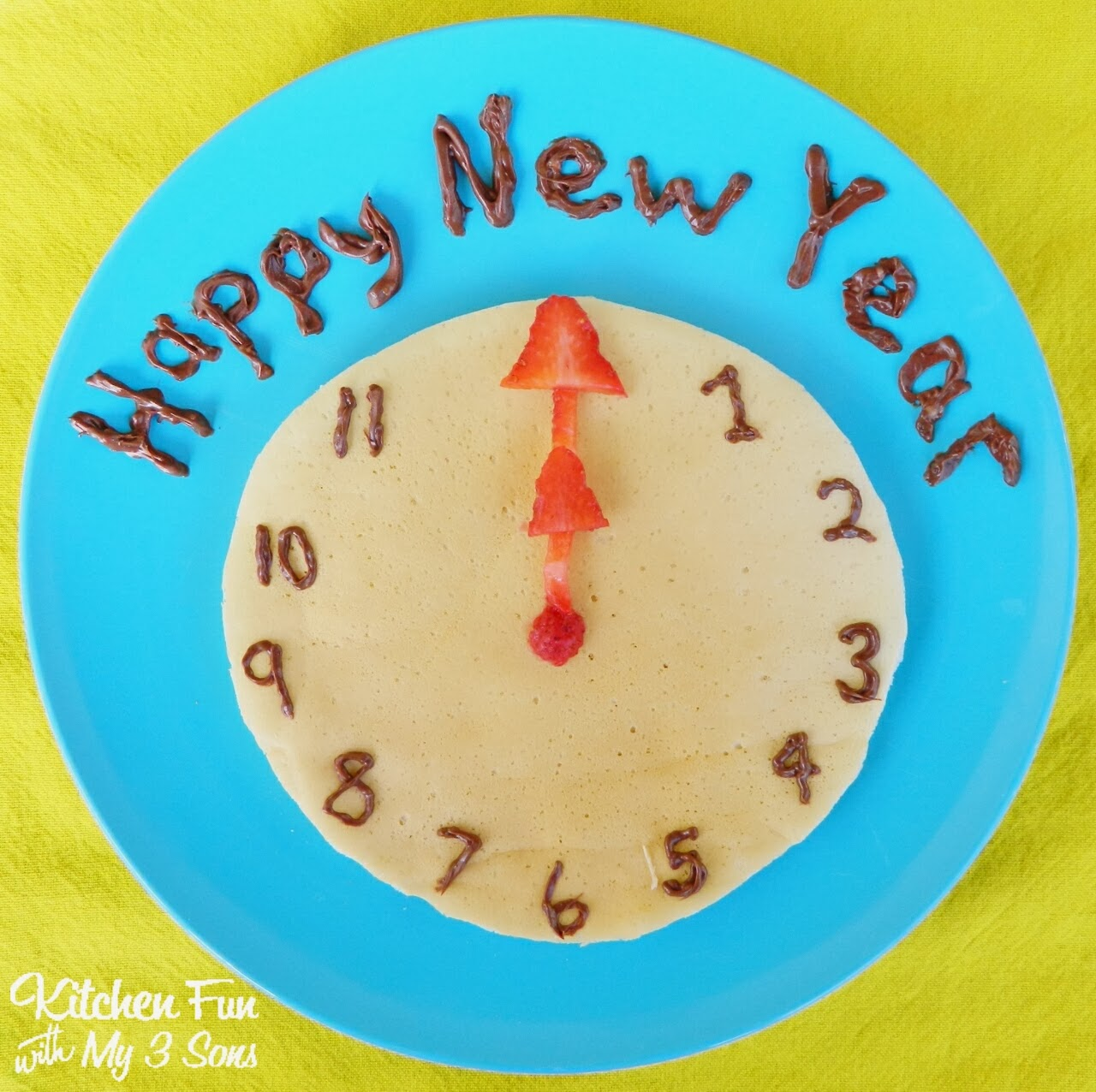 New Year's breakfast for kids: Kitchen Fun with my three sons
