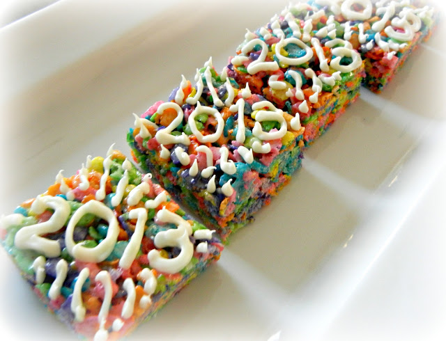 New Year's breakfast for kids: Sugar Swings cereal treats