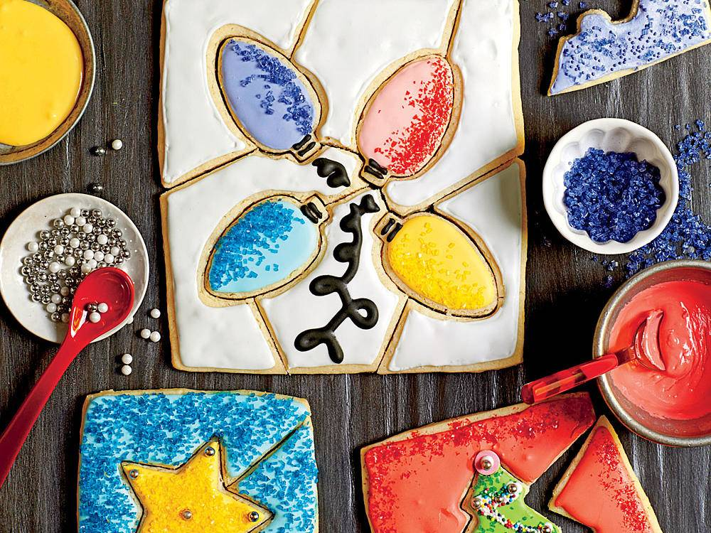 Holiday Bake Sale: Christmas Cookie Puzzle from Southern Living
