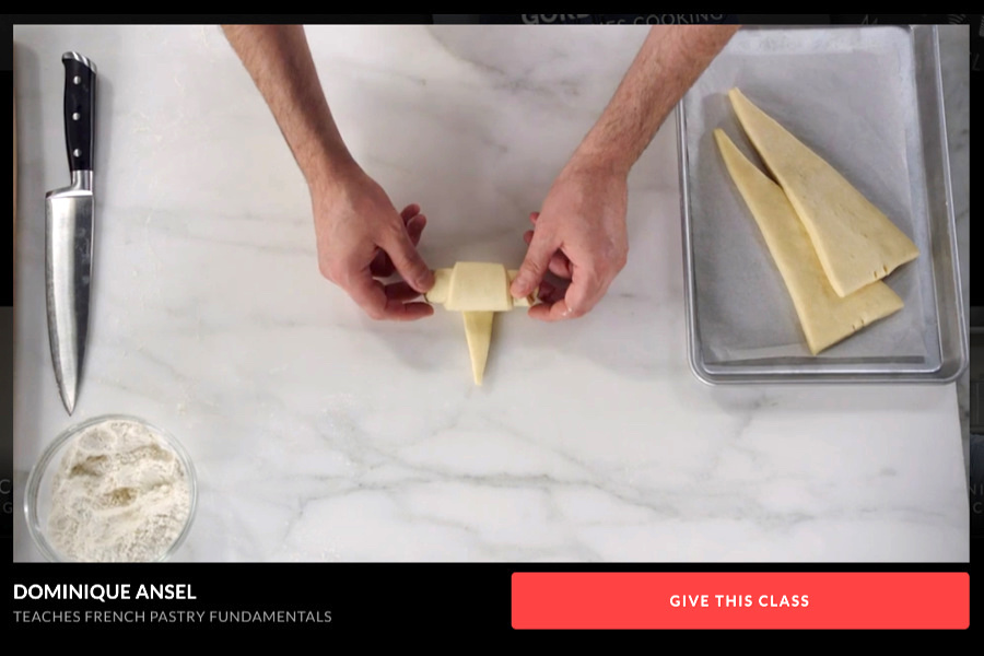 Dominique Ansel Masterclass video course in French pastry techniques