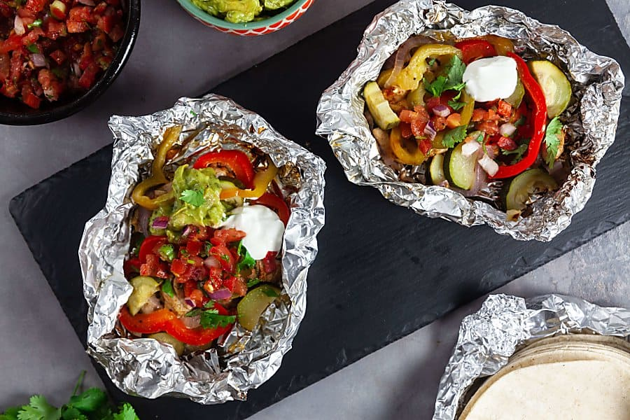 5 healthyish foil-pack dinners to make family dinners fun and easy