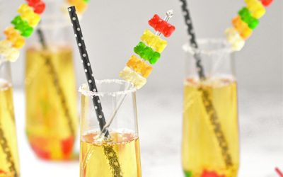 7 New Year's Eve mocktails for kids. So fun and colorful, you'll want a sip too