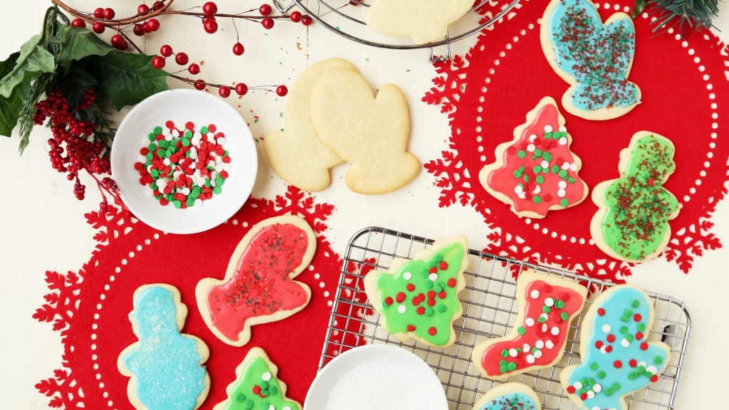 Holiday bake sale treats: iced sugar cookies on Genius Kitchen with image by Jonathan Melendez