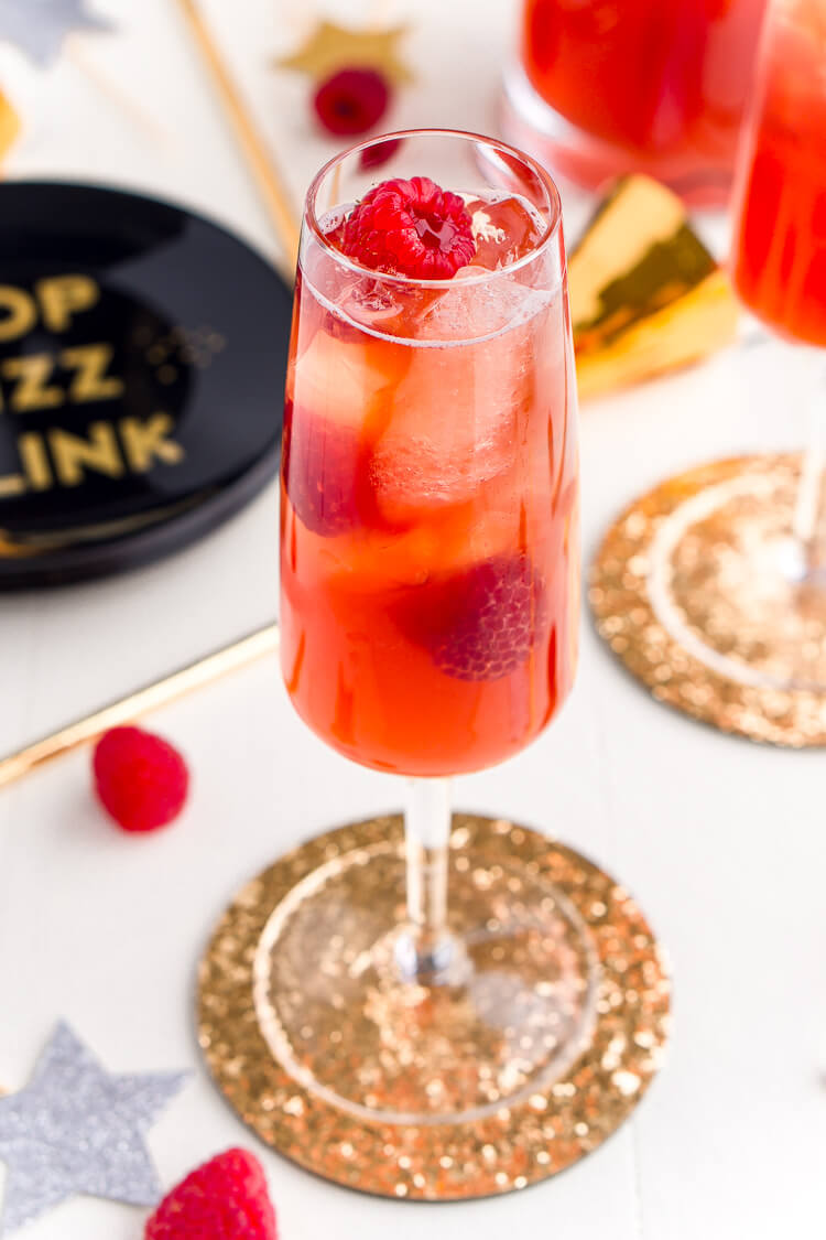 Champagne punch recipes for New Year's Eve: New Year's Eve champagne punch | Sugar and Soul