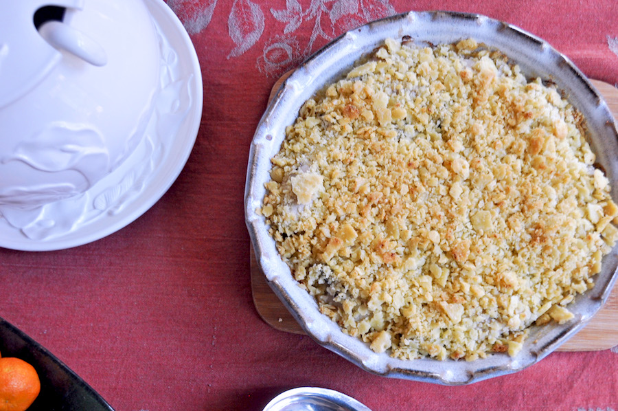The best homemade, traditional southern oyster pie recipe | anne wolfe postic for coolmomeats.com