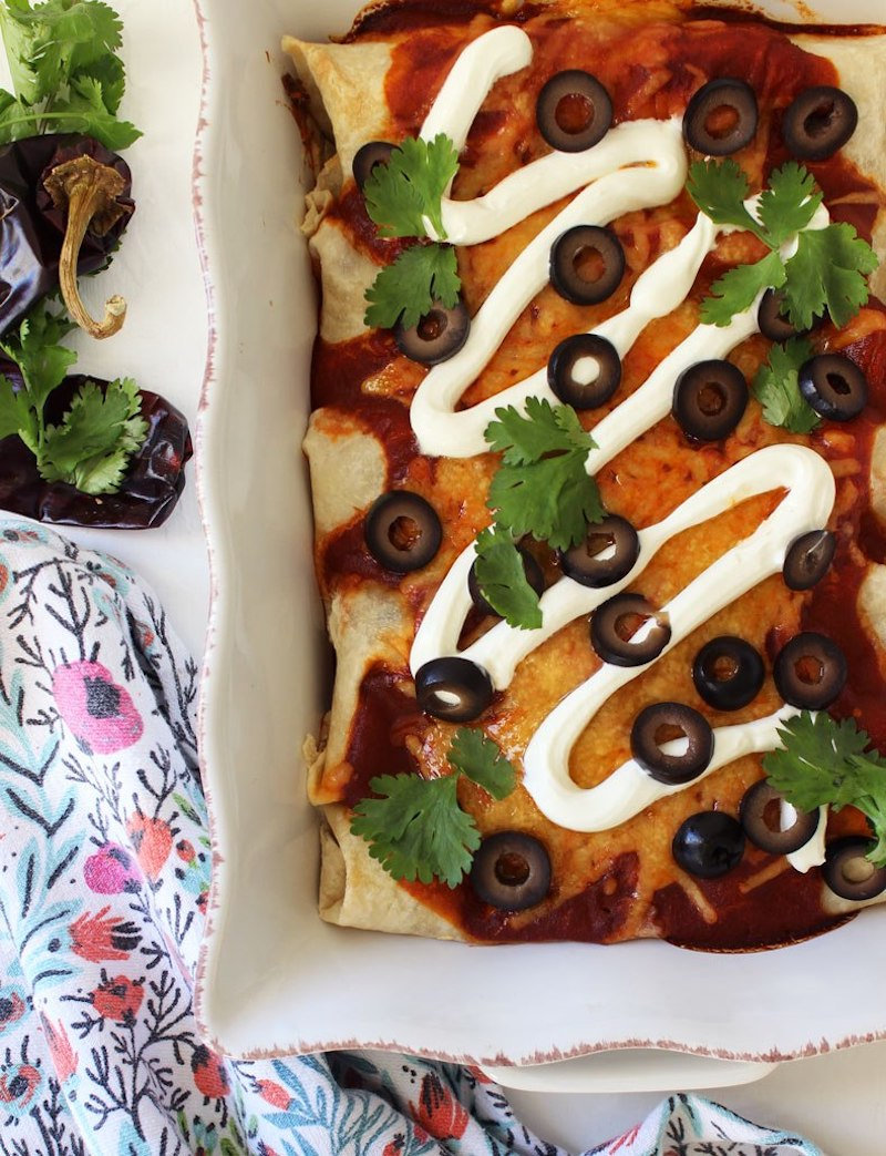 Weekly meal plan: Turkey enchiladas at Simple and Sweet Food