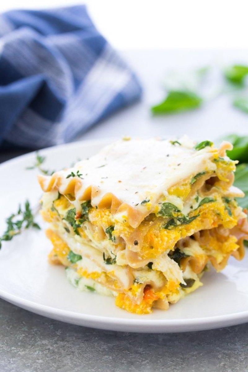 Weekly meal plan: Butternut Squash lasagna at Kristine's Kitchen