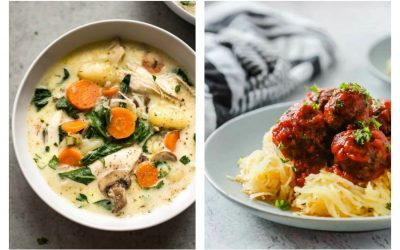 Weekly meal plan: 5 easy meals for the week ahead, including lighter dinners and a festive New Year's Eve cake